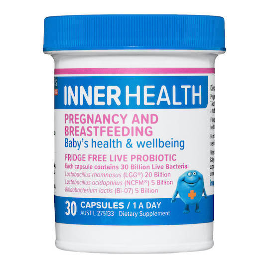 Inner Health Pregnancy and Breastfeeding, 30 caps (use by end 04/21)