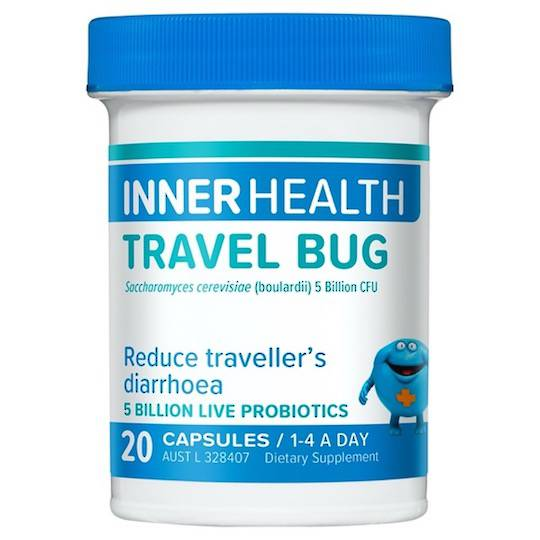 Inner Health Travel Bug, 20 Capsules