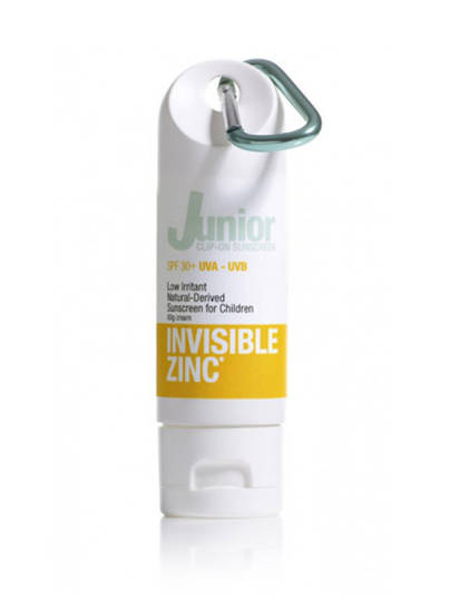 Invisible Zinc Junior Clip On 60g (SPF50) (best before 08/21)