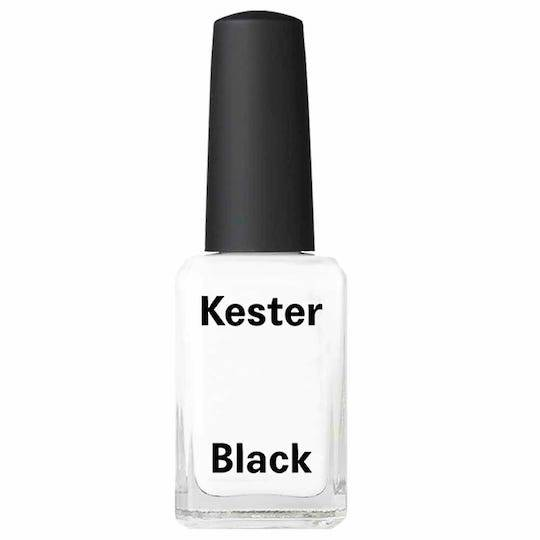 Kester Black Nail Polish French White, 15ml