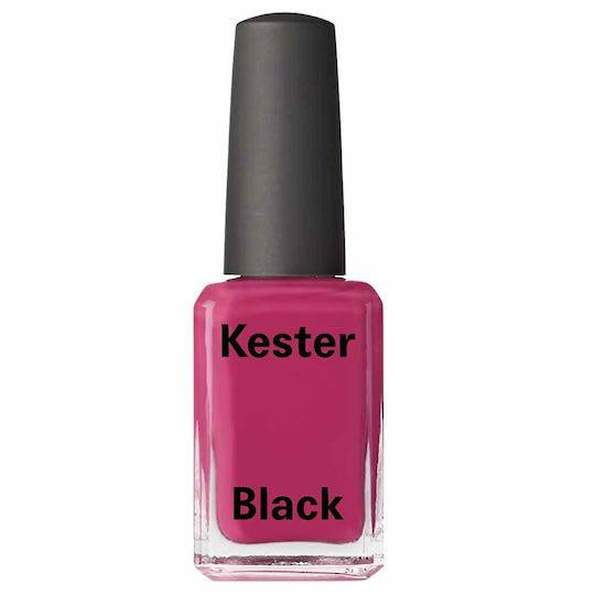 Kester Black Nail Polish Raspberry, 15ml