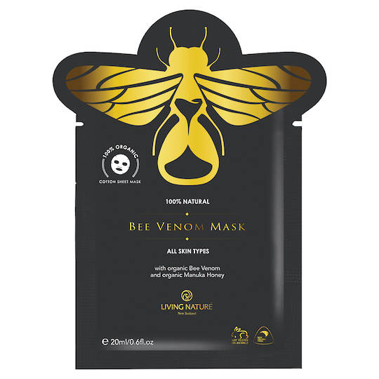 Living Nature Bee Venom Mask, 20ml