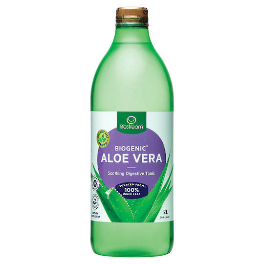 Lifestream Biogenic Aloe Vera Tonic, 500ml, 1.25L, or 2L