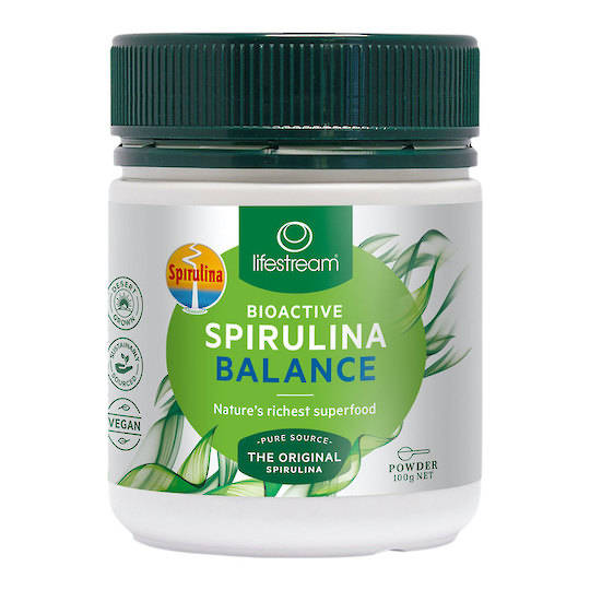 Lifestream Bioactive Spirulina Balance, 100g, 200g or 500g Powder