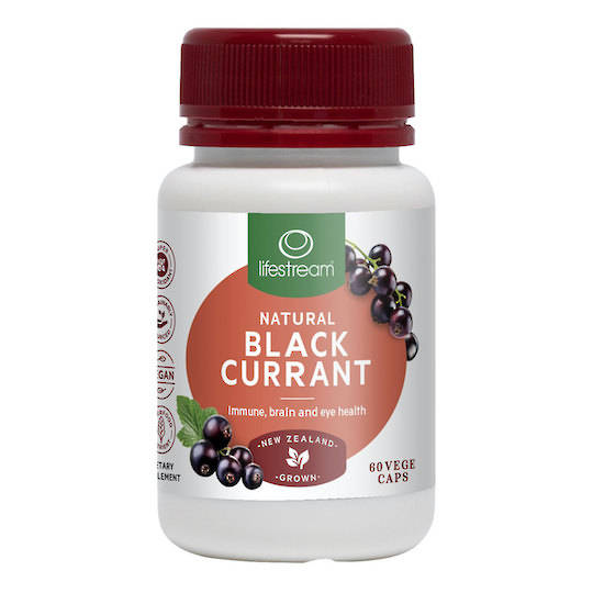 Lifestream Natural Blackcurrant, 30 or 60 Capsules (exp end Jan 21)