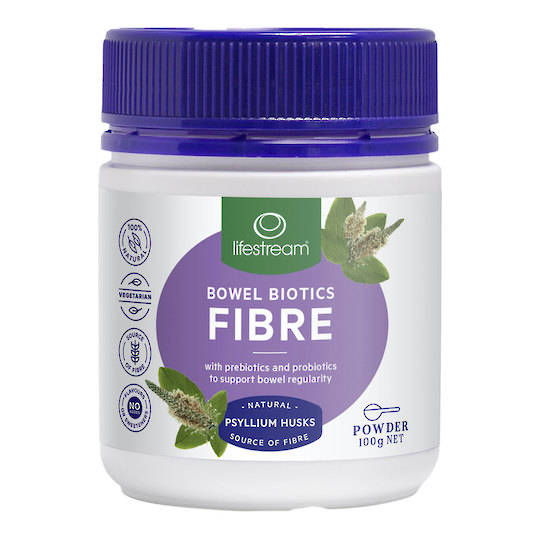 Lifestream Bowel Biotics Fibre, Capsules (best before end 11/20) 100 caps