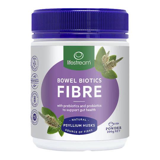 Lifestream Bowel Biotics Fibre, Powder