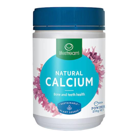 Lifestream Natural Calcium, 100g or 250g Powder