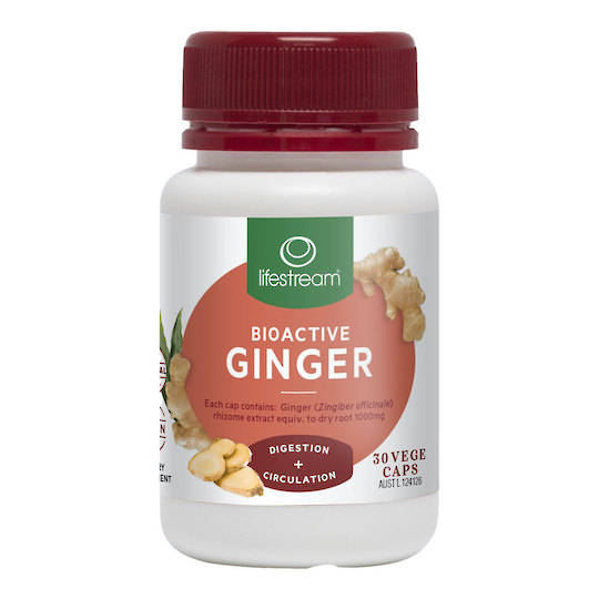 Lifestream Bioactive Ginger, 30 Capsules