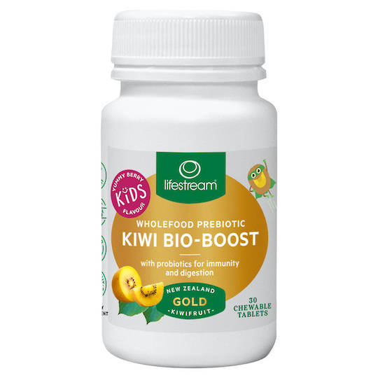 Lifestream Kiwi Bio-Boost Kids, 30 Chewable Tablets