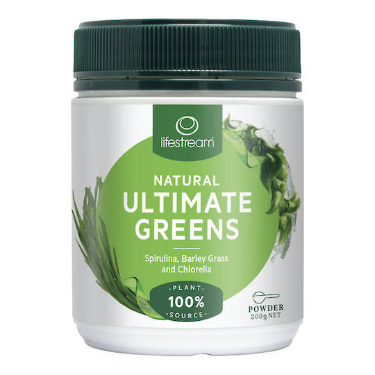 Lifestream Ultimate Greens, 200g Powder
