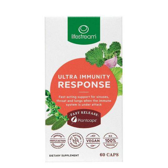 Lifestream Ultra Immunity Response, 30 or 60 Capsules