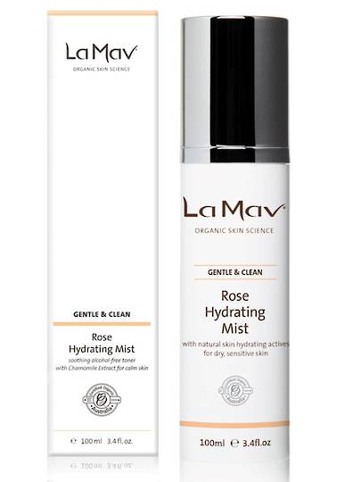 La Mav Rose Hydrating Mist (formerly rosa domascena)