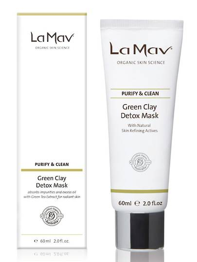 La Mav Green Clay Detox Mask, 60ml