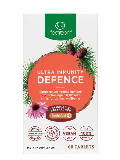 Lifestream Ultra Immunity Defence, 30 or 60 Tablets