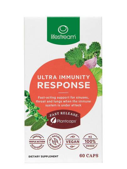 Lifestream Ultra Immunity Response, 30 or 60 Vege Caps