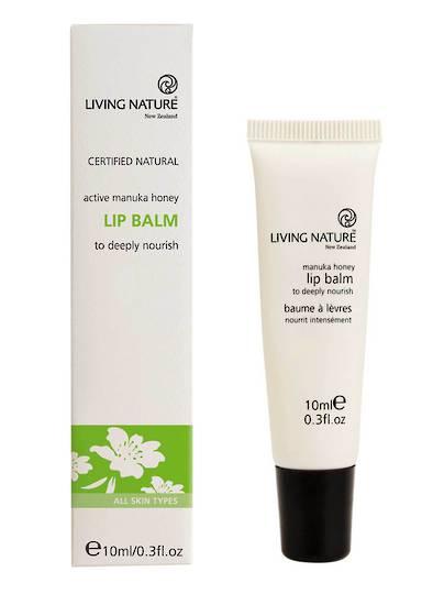 Living Nature Lip Balm, 10ml