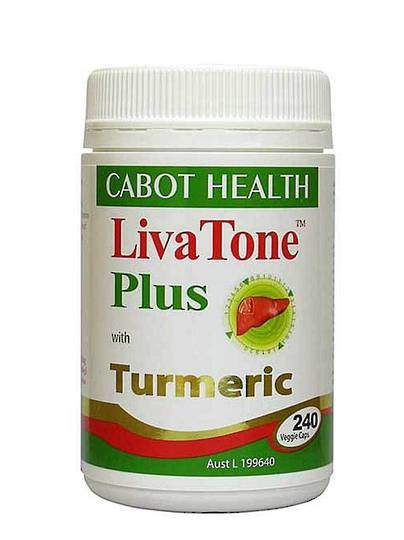 Cabot Health Livatone Plus, Sandra Cabot, 240 Capsules