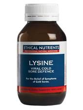 Ethical Nutrients Lysine Viral Cold Sore Defence, 30 Tablets