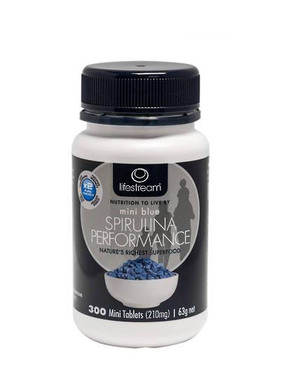 Lifestream Mini Blue Spirulina Performance, Mini Tablets