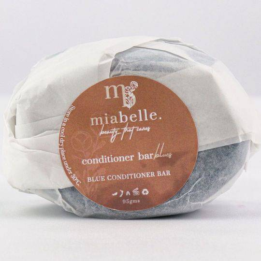Mia Belle Blue Conditioner Bar, 95g