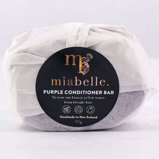 Mia Belle Purple Conditioner Bar, 95g