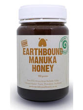 Earthbound Raw Manuka Honey, 500g