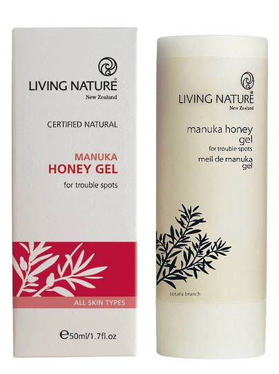 Living Nature Manuka Honey Gel, 50ml