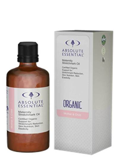Absolute Essential Maternity Stretchmark & Tone Oil (Organic), 100ml