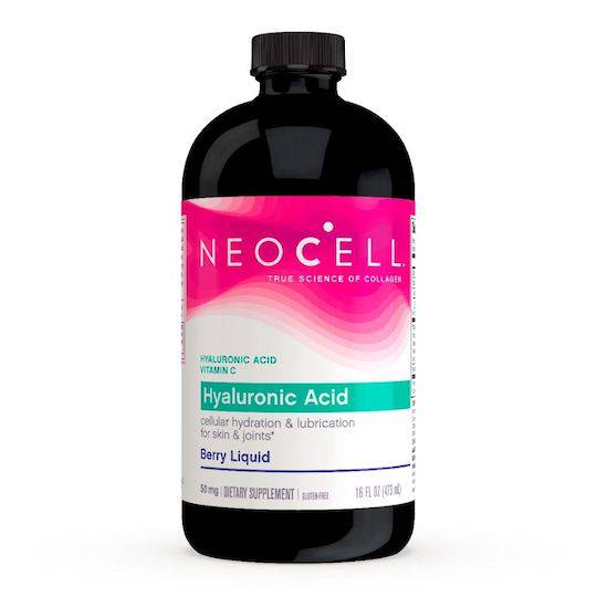 NeoCell Hyaluronic Acid, Berry, 473ml Liquid