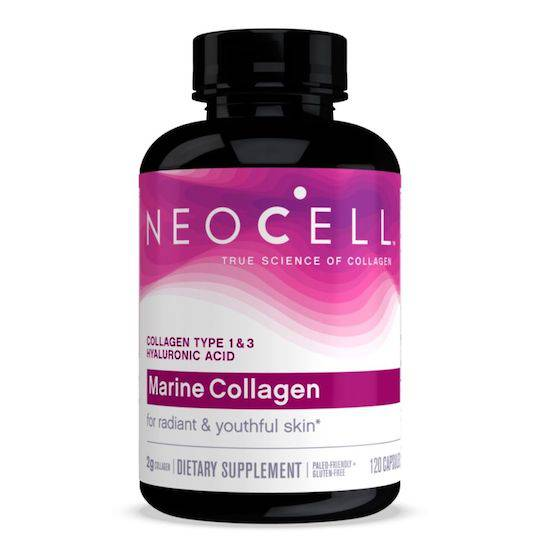 NeoCell Marine Collagen ( + HA), 120 Capsules
