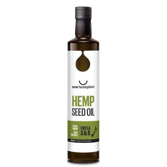 New Hemisphere Hemp Seed Oil, 250ml (Garlic or Chilli Flavour)