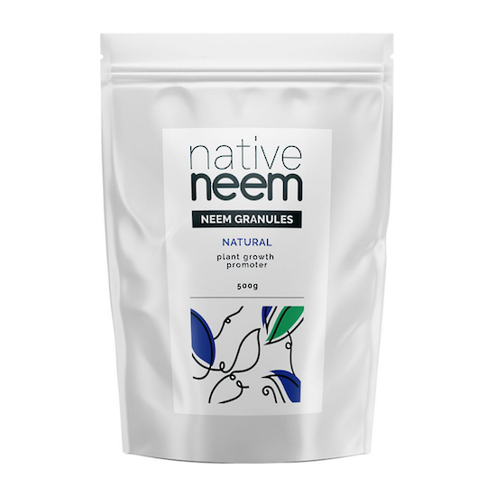 Native Neem Organic Neem Granules, 500g and 5kg