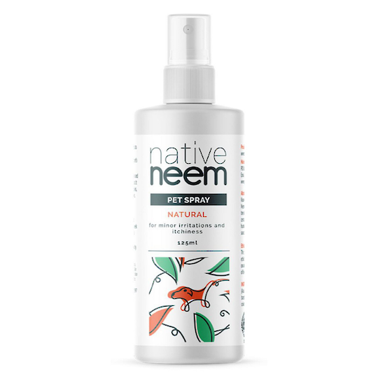Native Neem Organic Neem Pet Spray, 125ml