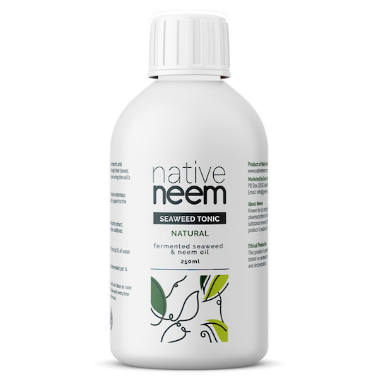 Native Neem Organic Neem and Seaweed Liquid Fertiliser, 250ml