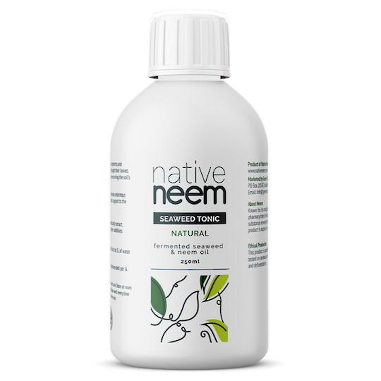 Native Neem Organic Neem and Seaweed Liquid Fertiliser, 250ml
