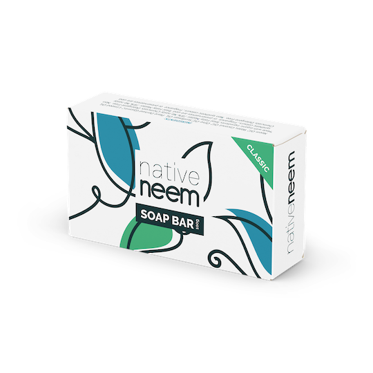 Native Neem Organic Neem Soap Bar (Classic Original), 100g