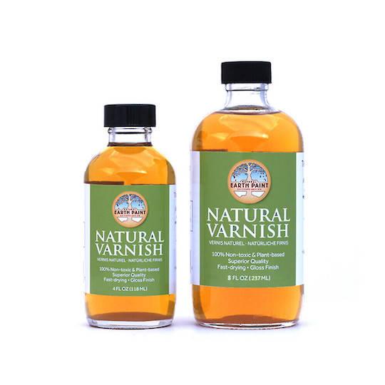Natural Earth Paint - Non-toxic & Natural Varnish