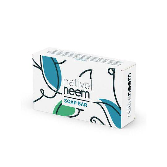 Native Neem Organic Neem Soap Bar, 100g