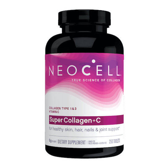 NeoCell Super Collagen + C, 250 tablets