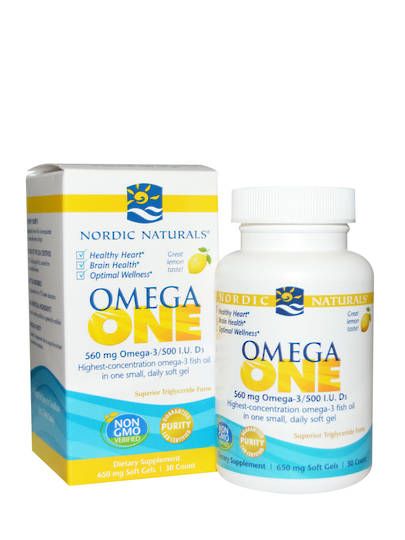 Nordic Naturals Omega One, 30 soft gels (exp end 01/21)