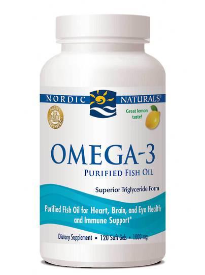 Nordic Naturals Omega-3, Softgels