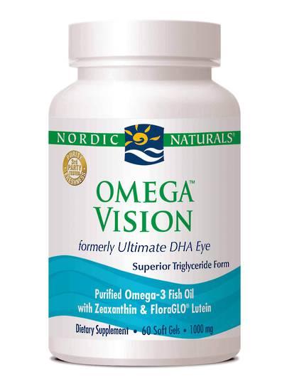 Nordic Naturals Omega Vision, 60 soft gels)