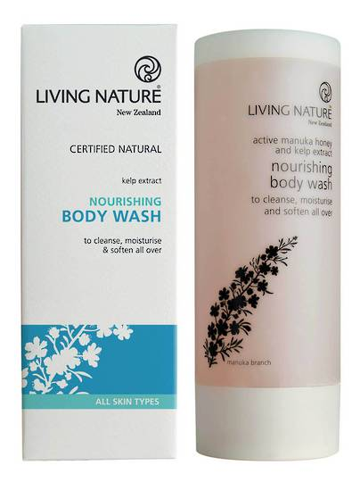Living Nature Nourishing Body Wash, 200ml