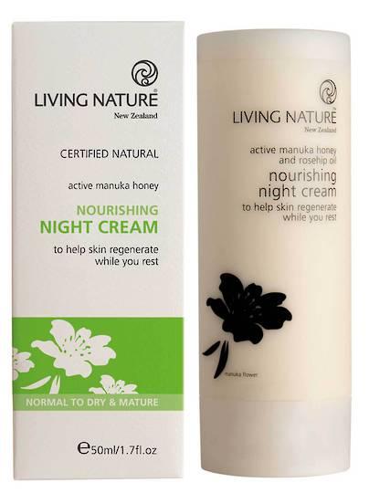 Living Nature Nourishing Night Cream, 50ml