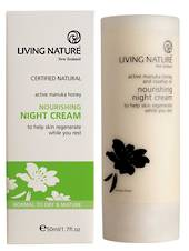 Living Nature Nourishing Night Cream, 50ml