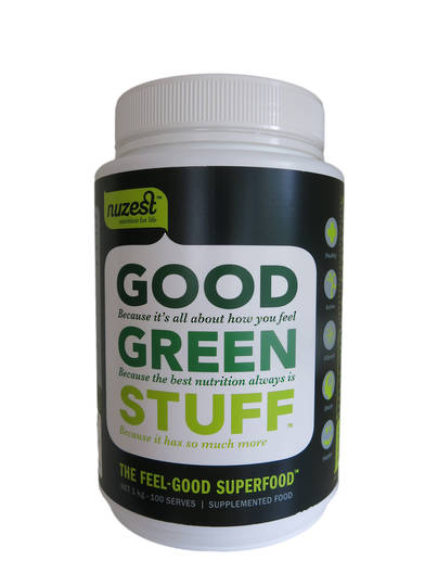 NuZest Good Green Stuff, Sachets, 120g & 300g
