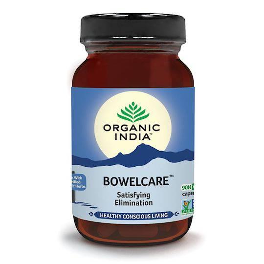 Organic India Bowel Care, 90 Capsules