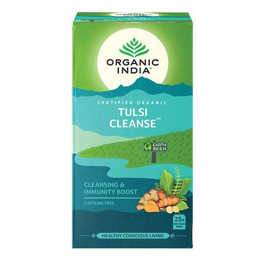 Organic India Tulsi Cleanse, 25 tea bags