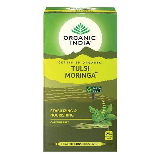 Organic India Tulsi Moringa, 25 tea bags